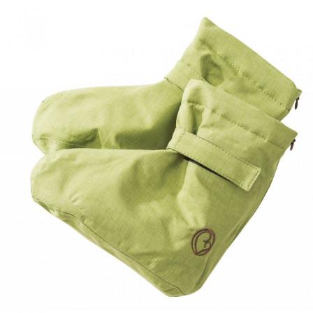 Mamalila chaussons de portage Booties Softshell Pistache