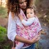Fidella Fly Tai Zen fuchsia soybean (Size Baby) - Porte-bébé meï-taï