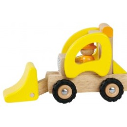 Loader tractor wood by Goki