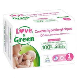 Love and Green Kit Birth Hypoallergenic