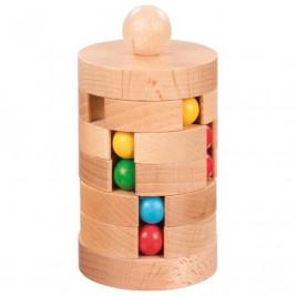 Goki Tour des billes - Jouet en bois