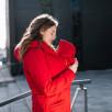Love and Carry Manteau de portage et de grossesse V2 Rouge
