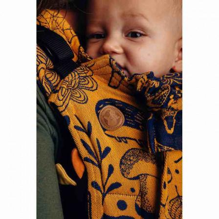 Lennylamb Onbuhimo Toddler Under The Leaves Golden Autumn