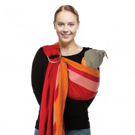 Babylonia BB-Sling Papaya - baby carrier Sling