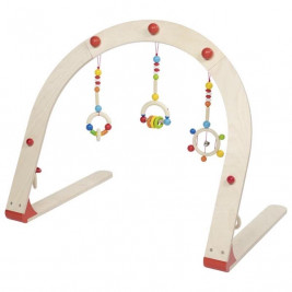 Heimess Portico activity wooden Arc-en-ciel