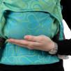 Fidella Fusion Cœur vert (Taille Bébé) - Porte-bébé