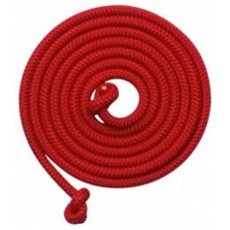 Goki Grande corde à sauter colorée (5 mètres) - Jeu de plein air en bois