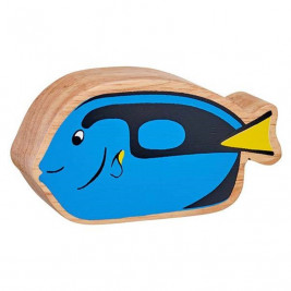 Blue fish wooden Lanka Kade