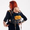 Lennylamb Onbuhimo Toddler WAWA - Grey & Mustard