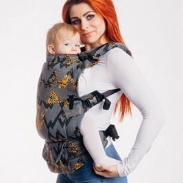 Lennylamb LennyUpGrade Taille Standard WAWAGREY & MUSTARD - Porte-bébé