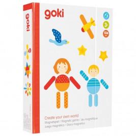 Goki Jeu magnétique Create your world