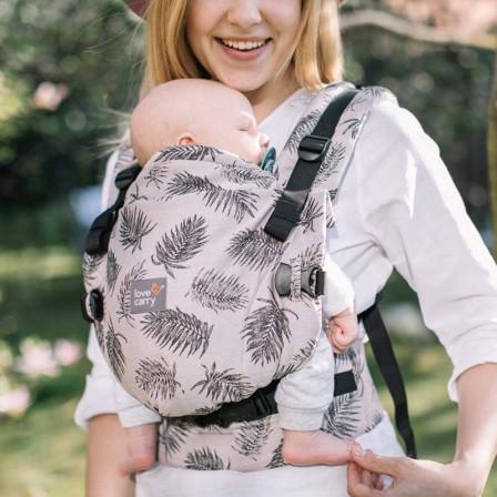 Love and Carry ONE + Tropics en coton bio - Porte-bébé physiologique