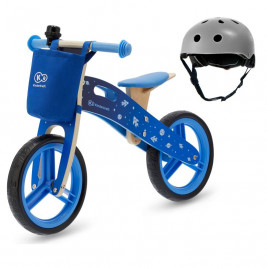 Kinderkraft Runner - push-along wooden helmet