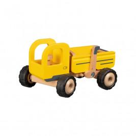 Goki Camion-benne - Jouet en bois