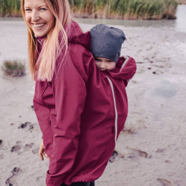 Mamalila Jacket of Portage and Pregnancy All Season Pink
