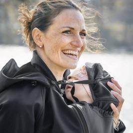 Mamalila Jacket of Portage and Pregnancy All Season Black