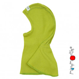 Manymonths Sweet Apple - Hooded baby pure merino wool