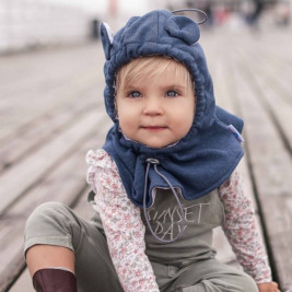 Naturioù Hood Adjustable Jeans Melange