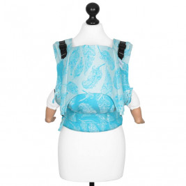 Fidella Fusion Feather Rain Scuba Bleu (Size Baby) - baby carrier
