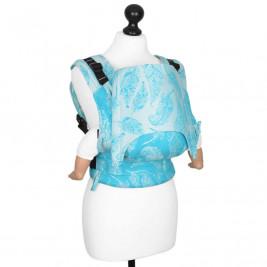 Fidella Fusion Feather Rain Scuba Bleu (Size Baby) - baby carrier