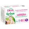 Love and Green Pack 6x42 Couches jetables taille 4+ (9 à 20 kg)