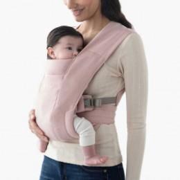 Ergobaby Embrace Rose Pâle - Porte-bébé Nouveau-né