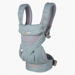 Ergobaby 360 Cool Air Mesh Vert Pastel - Porte-bébé 4 Positions