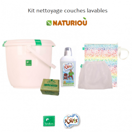 Kit nettoyage couches lavables