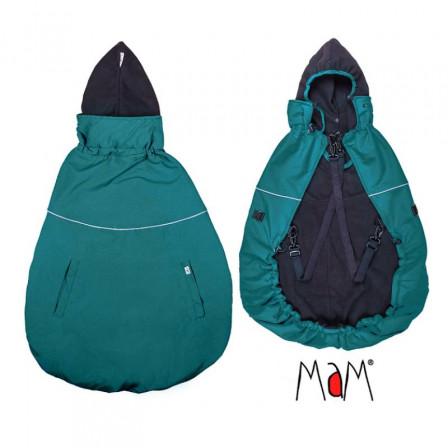 Mam Deluxe Flex Cover couverture de portage Ocean Wave/Black