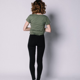 Love And Carry Legging de Grossesse Noir