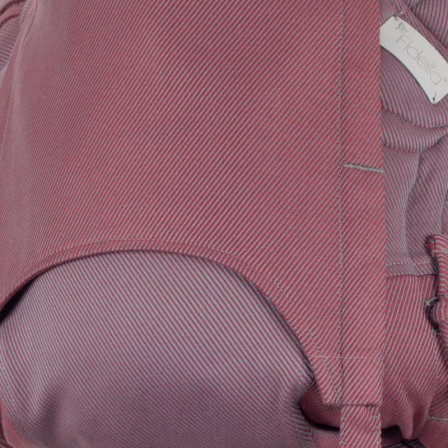 Fidella Fly Tai BIO Lignes Rouge taille bébé meï-taï 0m+