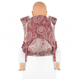 Fidella FLY TAI - MEI TAI BABY CARRIER - Persian Paisley Rubis - TODDLER
