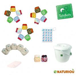 Totsbots Pack complet couches lavables de la naissance à la propreté