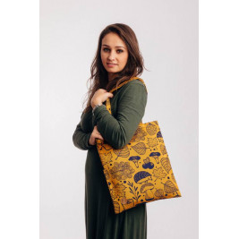 Lennylamb Tote Bag UNDER THE LEAVES - GOLDEN AUTUMN