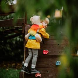 Lennylamb Rainbow Baby Door-doll