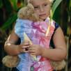 Lennylamb Swallows Rainbow Light Porte-poupée