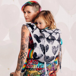 LennyLamb Obuhimo Toddler Back Carrier Lovka Classic