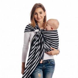Lennylamb Sling Light And Shadow - baby carrier Sling