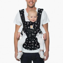 Ergobaby Omni 360 Cool Air Mesh Black Star-4 Position Scalable Baby Carrier