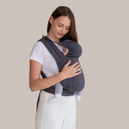 Love and Carry LoveTie+ Granite - Meï-taï Hybride