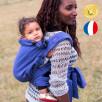 Néobulle Evolu'Bulle Encre - Porte-bébé Meï-taï