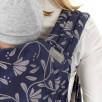 Fidella Fly Tai Floral Touch Eclipse Bleu Porte-bébé Meï-taï taille bambin