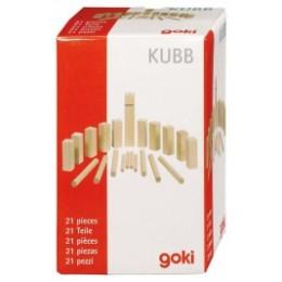 Mini-Kubb, jeu de vikings en bois