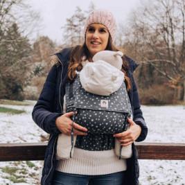 Limas Flex Blue Hope porte bébé physiologique en coton bio