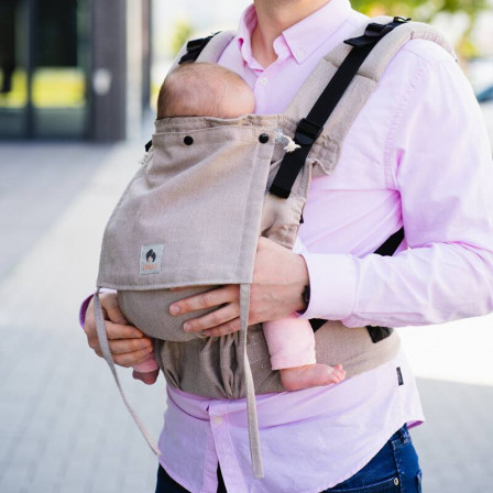 Limas Flex Beige baby carrier