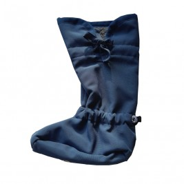 Manymonths chaussons de portage Booties Softshell Cosmos Blue / Rock Grey