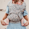 Fidella Flyclick Kaleidoscope Sable - Porte-bébé hybrides Halfbuckle Taille bébé