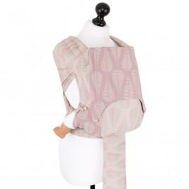 Fidella Flyclick Drops Rose Sable - Porte-bébé hybrides Taille bébé