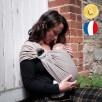 Néobulle Sling Beige Sable coton bio - Écharpe de Portage Sling
