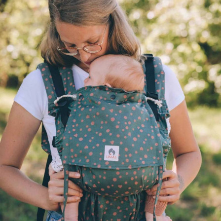 Limas Flex Hope physiological baby carrier in organic cotton